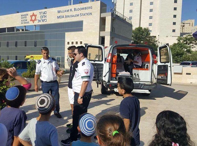 Niños Árabes y judíos reunidos en Jerusalen