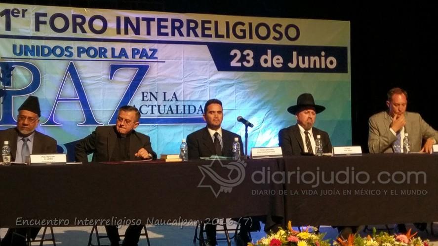 Judío, Musulman Catolico y Cristiano  Evangelista reunidos por la Paz en México