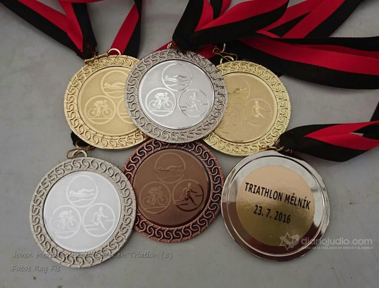 Joven Mexico -Israelí gana en competencias de Atletismo