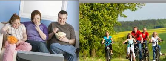 Estilo de Vida Sedentario y Obesidad