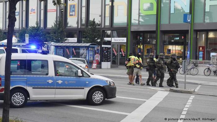 Varios muertos y heridos en tiroteo en centro comercial en Munich, Alemania