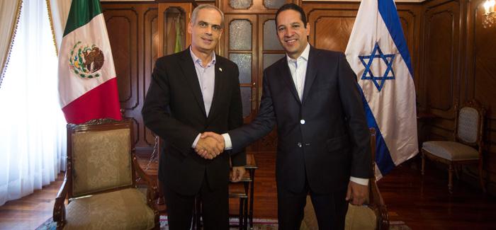 Queretaro e Israel fortalecen relaciones