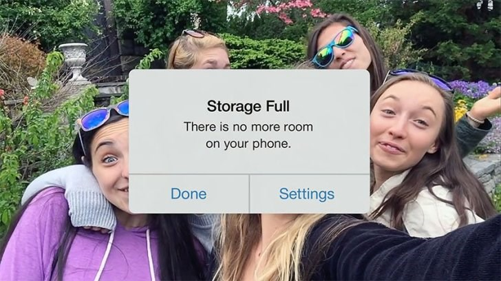Google se burla de los iPhone de 16GB