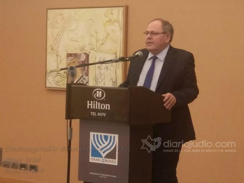 Nada Mas Excitante que Invertir en Israel ante delegados Israel Bonds Dani Dayan Cónsul General de Israel en Nueva York