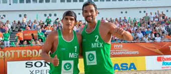 Mexico ganó en volleybol de playa