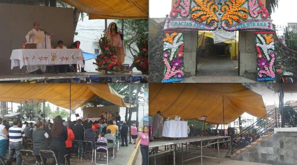 Fiesta Patronal de Santa Ana. Una Celebración Pagana del Pueblo del Mismo Nombre
