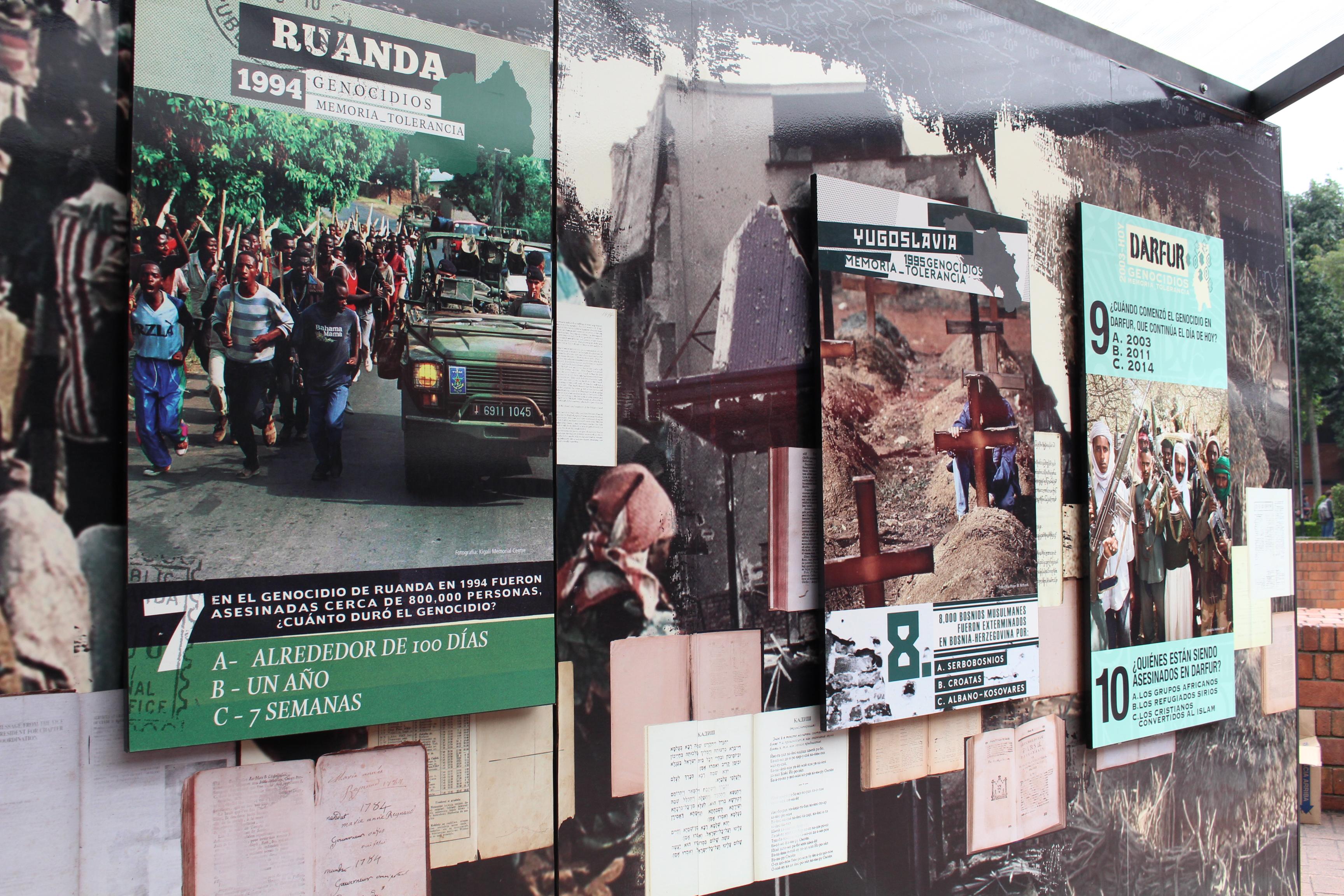 Túnel de la Tolerancia en la Ibero