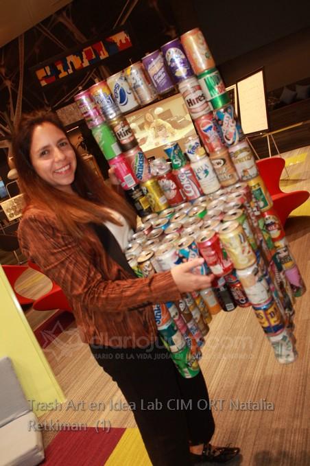 Trash Art La basura Hecha Arte en Idea Lab Natalia Retchkiman