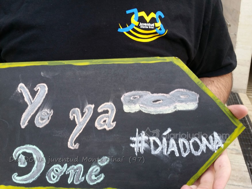 Todos tenemos como ayudar y que Donar #DiaDona