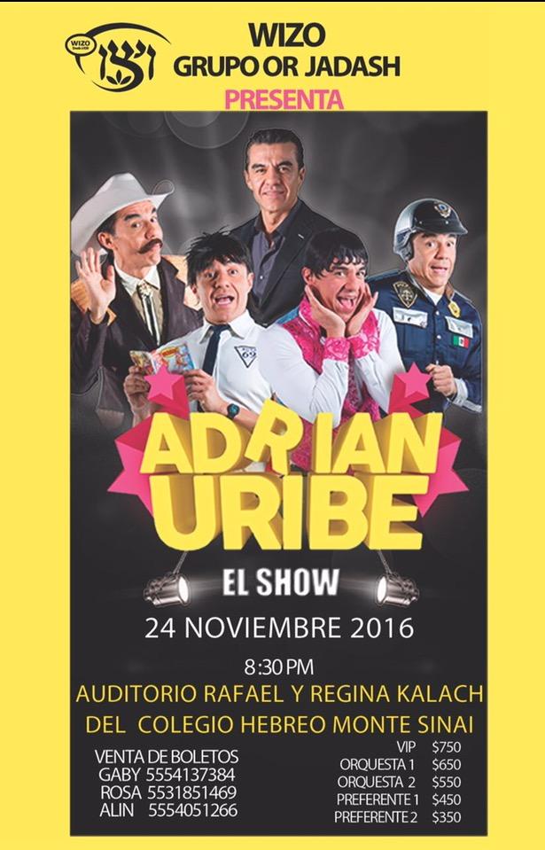 Wizo presenta a Adrian Uribe en Apoyo de las escuelas Públicas y centros WIZO