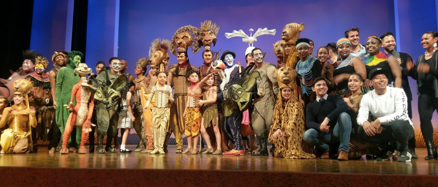El Rey León cumple 500 espectaculares funciones y lo celebra con una presentación especial