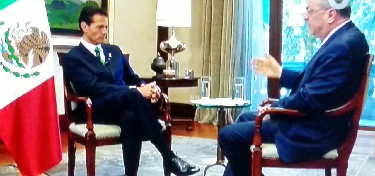 Enrique Peña Nieto habla del México de hoy del futuro con Ezra Shabot