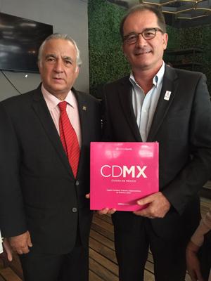 Visita México el director de la Oficina de Turismo de París