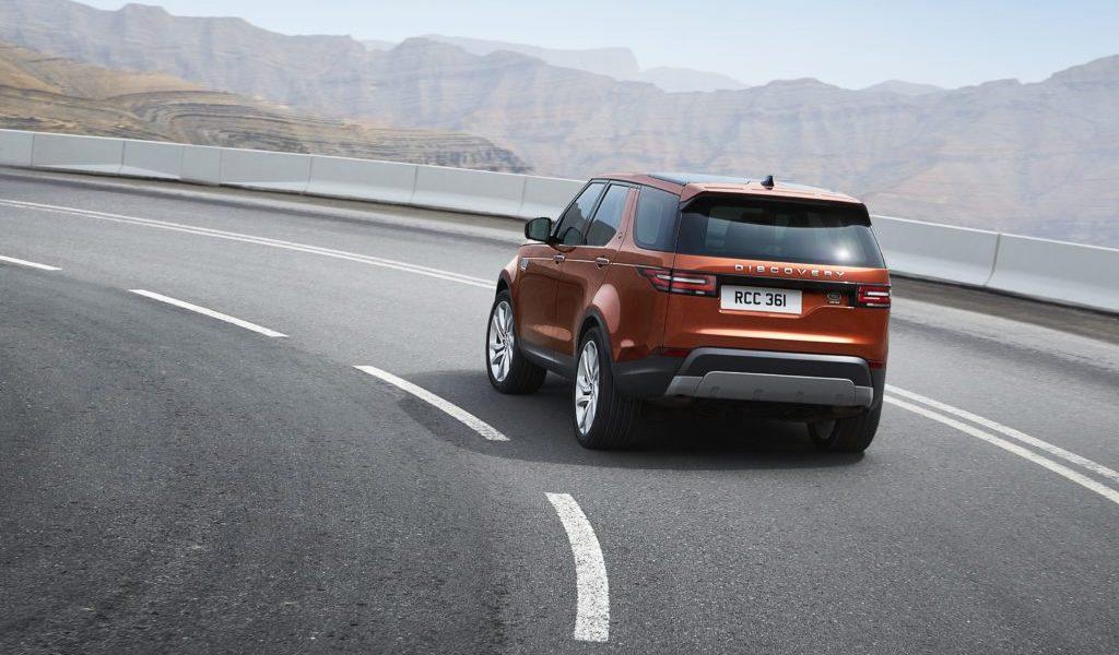 La nueva Land Rover Discovery ofrece mayor confort en conducción