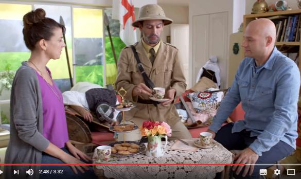 Bienvenidos a nuestro hogar judío el video de Israel que ha sido criticado