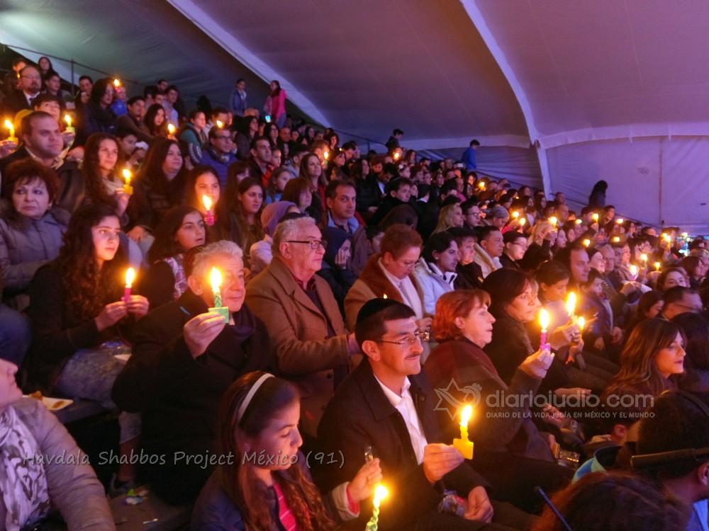 La comunidad judía de México y el Mundo unidas en Havdala Shabbat Project