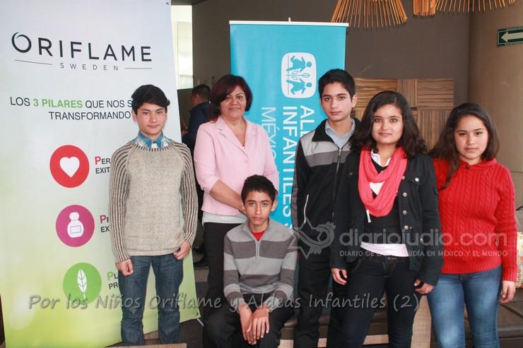 En apoyo a los niños del Mundo Oriflame México y Aldeas Infantiles