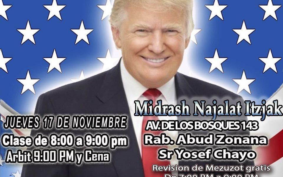 El Futuro de los judíos con Donald Trump