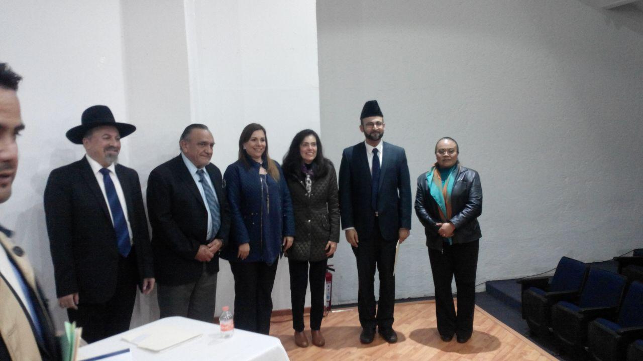 Uniendo a las religiones en Naucalpan
