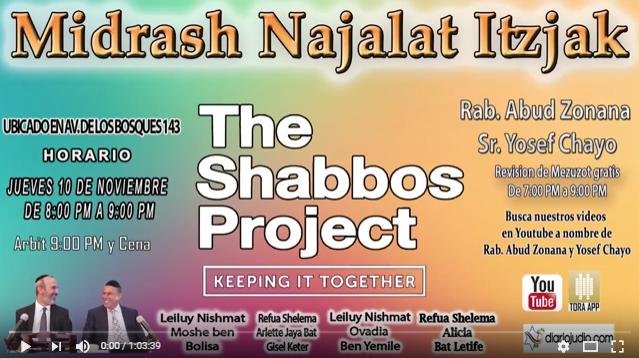 Comentarios, anécdotas y el porque de The Shabbos Project 2016