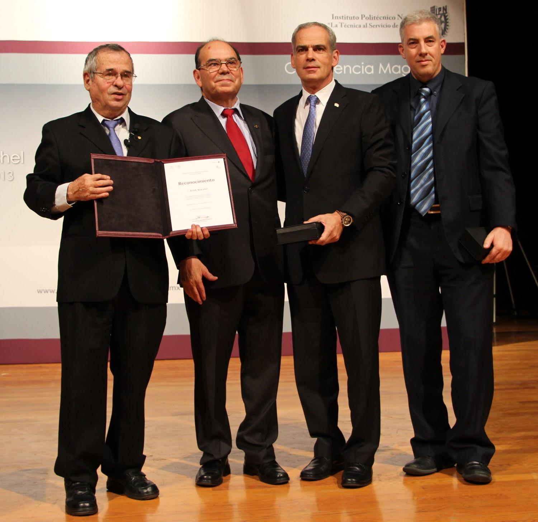 IPN colaborando con Israel para solucionar problemas en México
