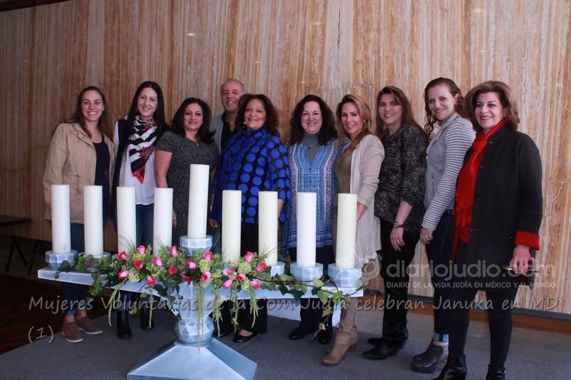 Celebran Januka Mujeres voluntarias de la comunidad judía con Damas Maguen David