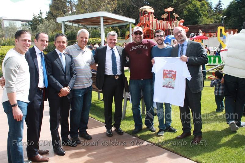 Punto CDI Monte Sinaí festeja un nuevo aniversario con gran Fiesta