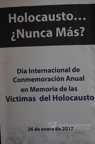 Holocausto…¿Nunca más? Conmemorando a las Víctimas del Holocausto