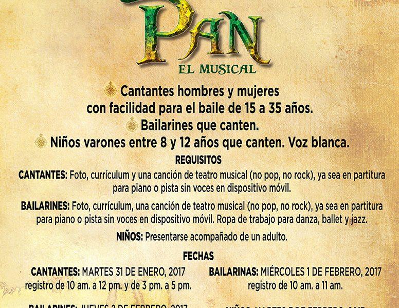 Audiciones para el  musical Peter Pan