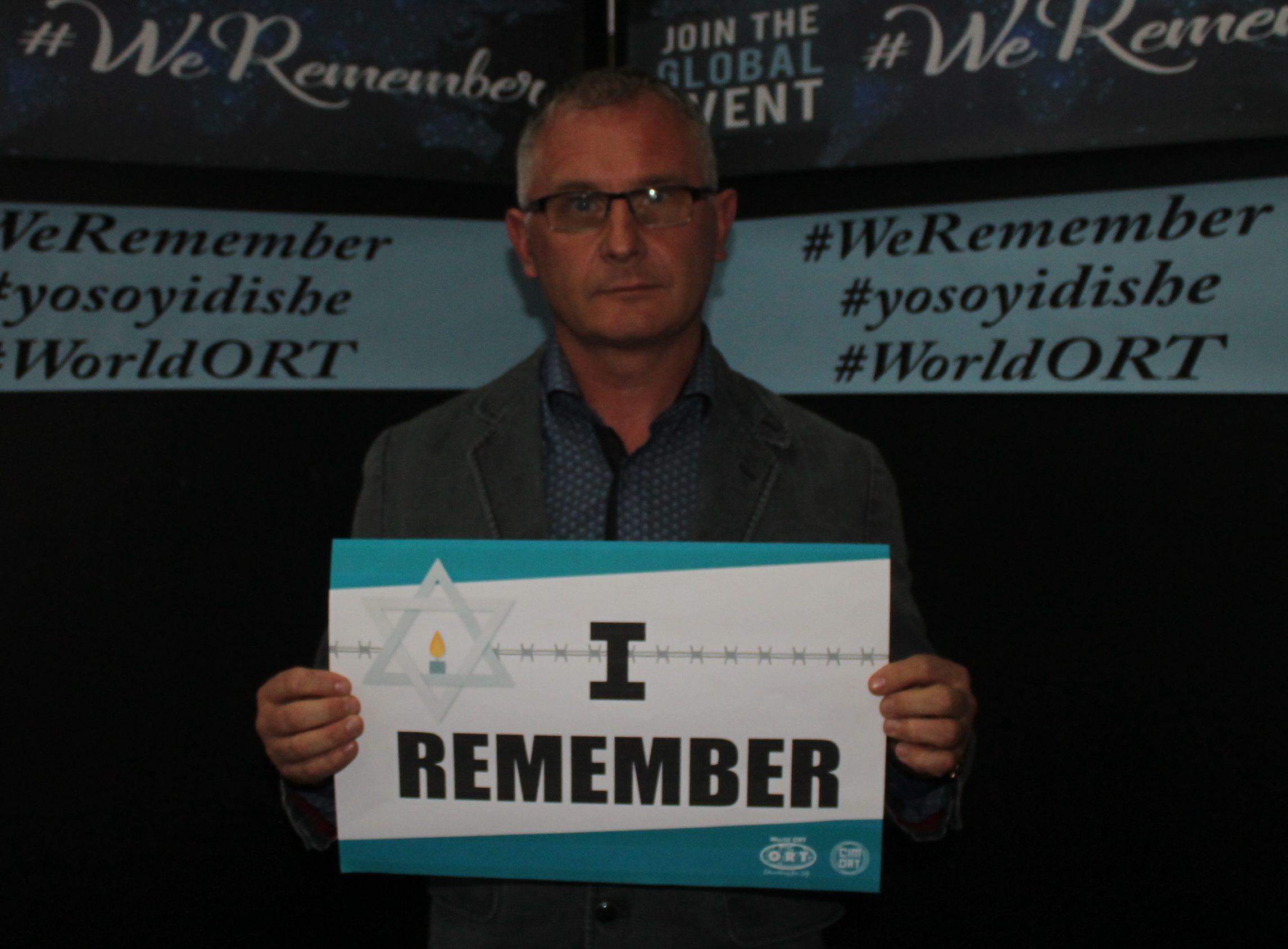 Amnesia del asesinato de Judiós en Kielce entrevista CIMORT