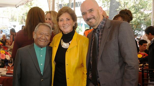 La Secretaria de Cultura, María Cristina García Cepeda, Acompañó a los Compositores en su Día
