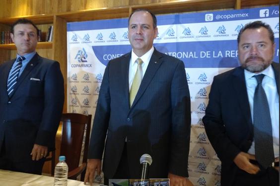 Porqué COPARMEX se Abstiene de Firmar Acuerdo con el Gobierno de México. Palabras de su Presidente Gustavo de Hoyos Walther