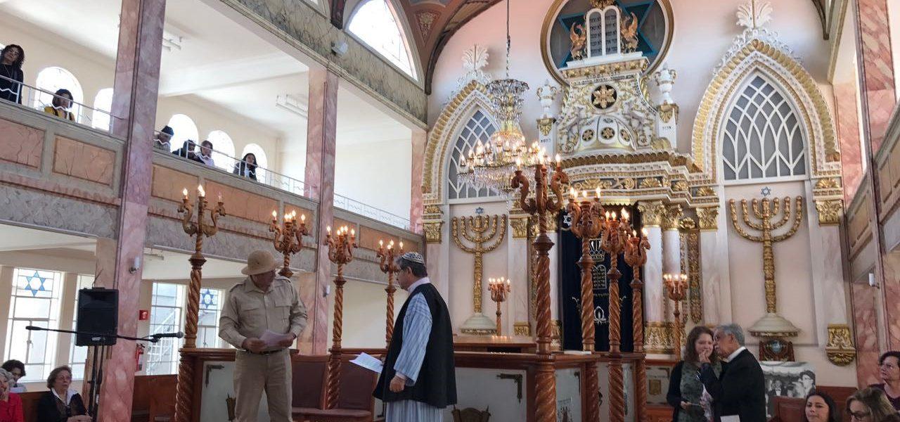 Historia de los judíos Shamis de México en la Sinagoga Justo Sierra