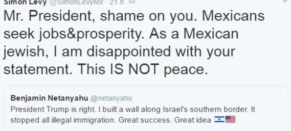 Rechazan Krauze, Chertorivsky, Fainstein , Mancera, Videgaray, Chong y mas Personalidades de México rechazan mensaje de Netanyahu y agradecen a la comunidad judía de México