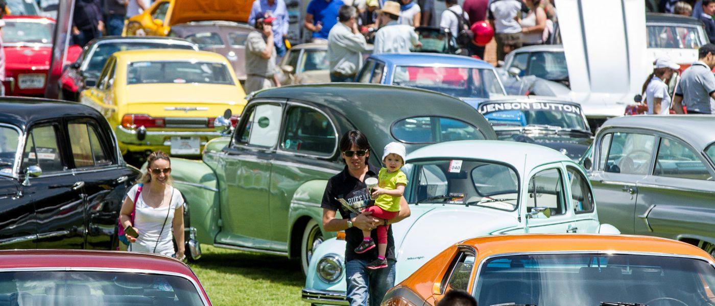 Autos de coleccion y deportivos especiales engalanaron el XXXI gran concurso elegancia