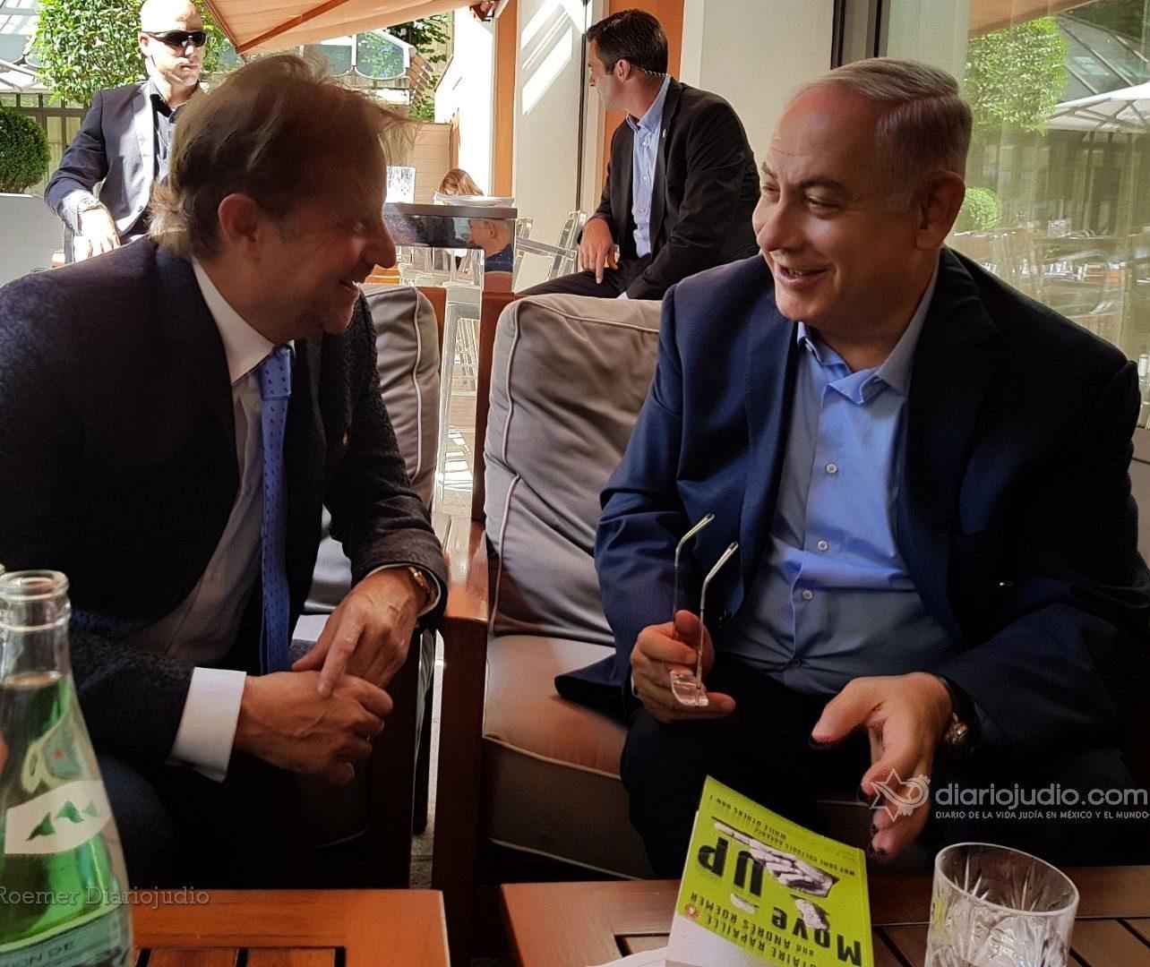 Andrés Roemer Se Reúne Con Netanyahu