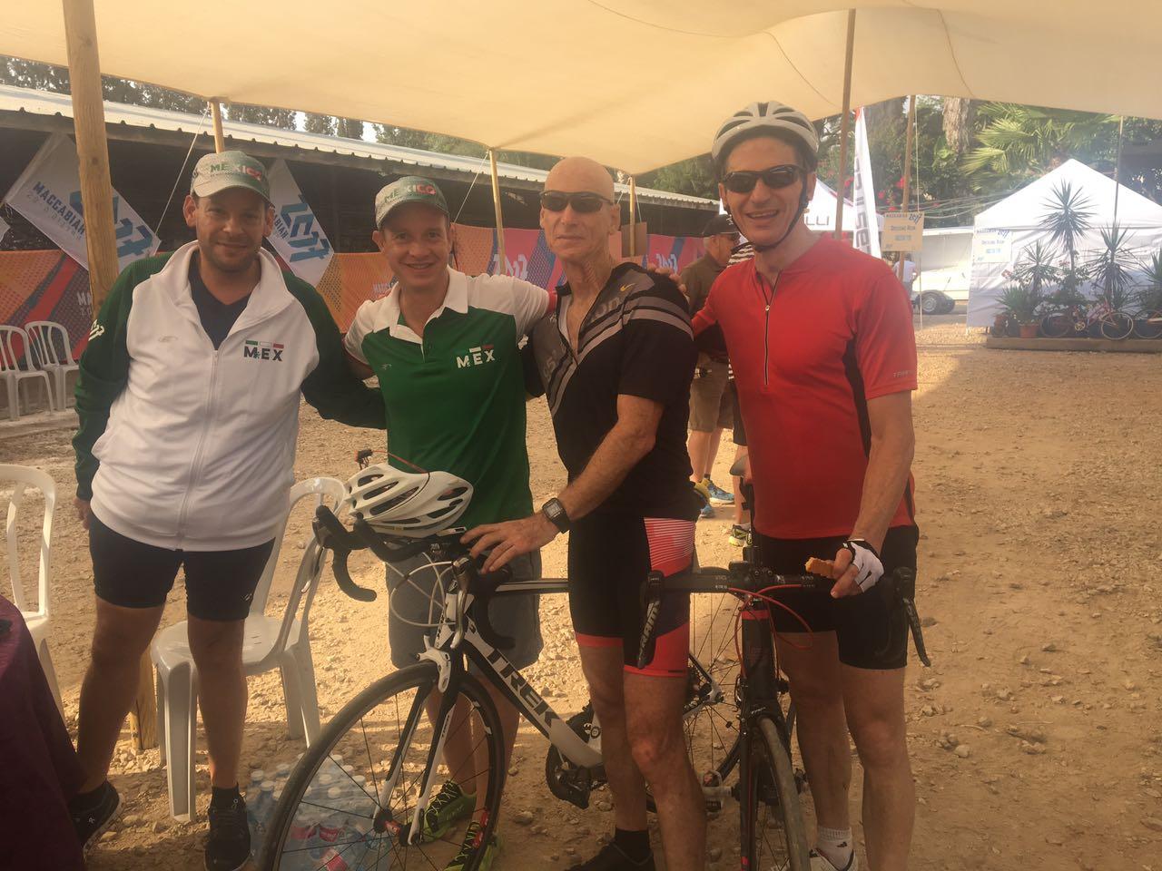 Mexicanos corriendo por un riñón en la Macabiada de Israel