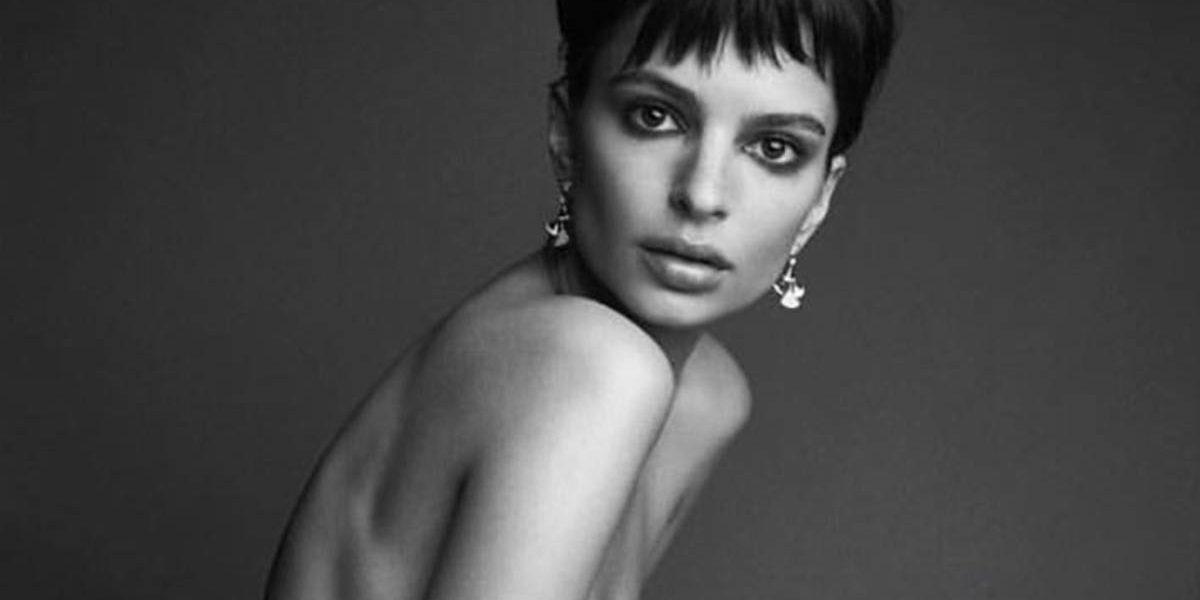 Emily Ratajkowski la famosa modelo judía posa desnuda