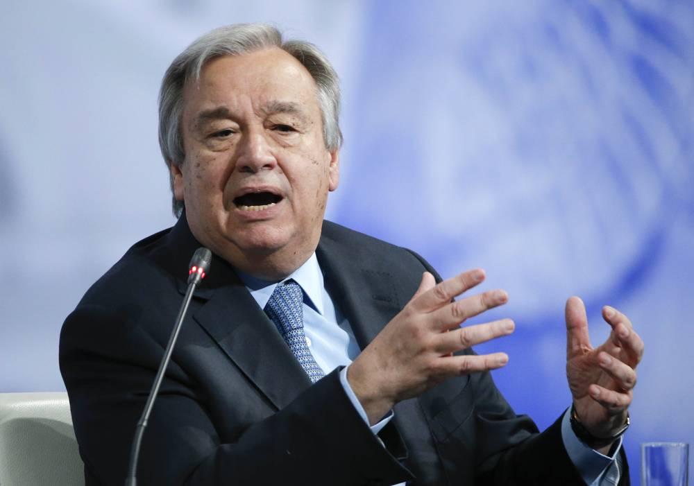 Jefe de la ONU hará su primer viaje a Israel