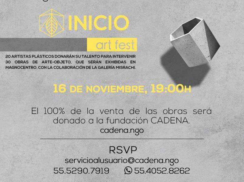 Exposición a Beneficio de CADENA y los damnificados del Terremoto en Magnocentro