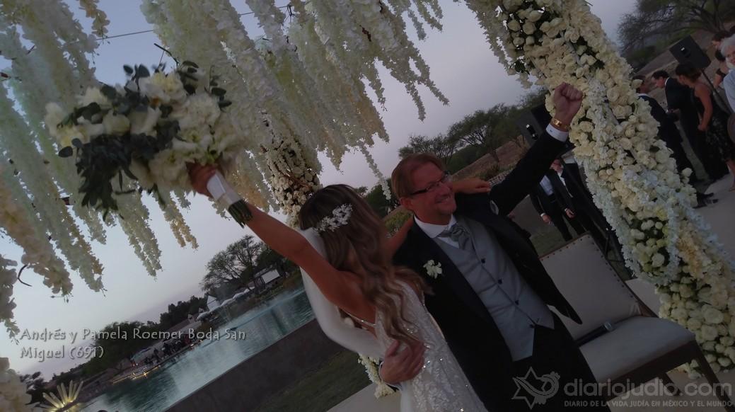 La boda mas original llena de humor alegria y mucho AMOR, Andres y Pamela Roemer