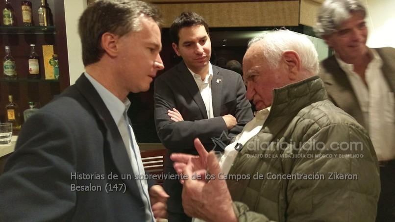 Israel y Polonia conmemoran en México Yom Hashoa con Testimonios de un sobreviviente del Holocausto Zikarón Basalon  (Recuerdos de la sala)