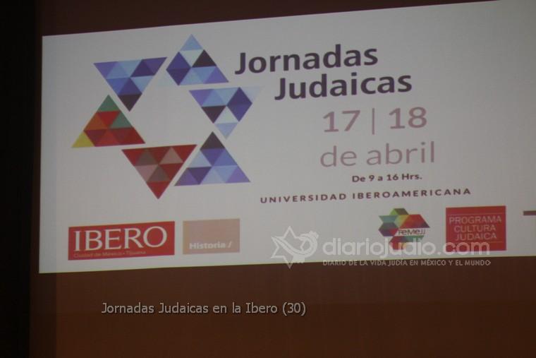 Conociendo mas de Israel y del Pueblo Judío en la Ibero, Jornadas Judaicas