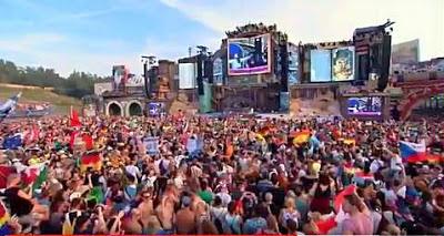 Hava Nagila se lleva el día en el Festival Musical Tomorrowland en Bélgica
