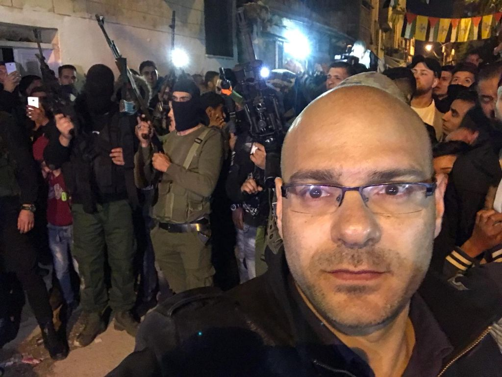 Con Ohad Hemo, que muestra la realidad palestina, sin filtros, a Israel por Ana Jerozolimski / Publicado el 24 de Julio de 2019 a las 14:03