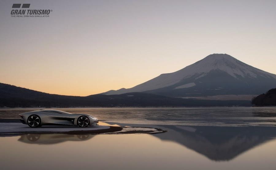Jaguar diseña el auto de carreras Vision Gran Turismo totalmente eléctrico para Gran Turismo Sport