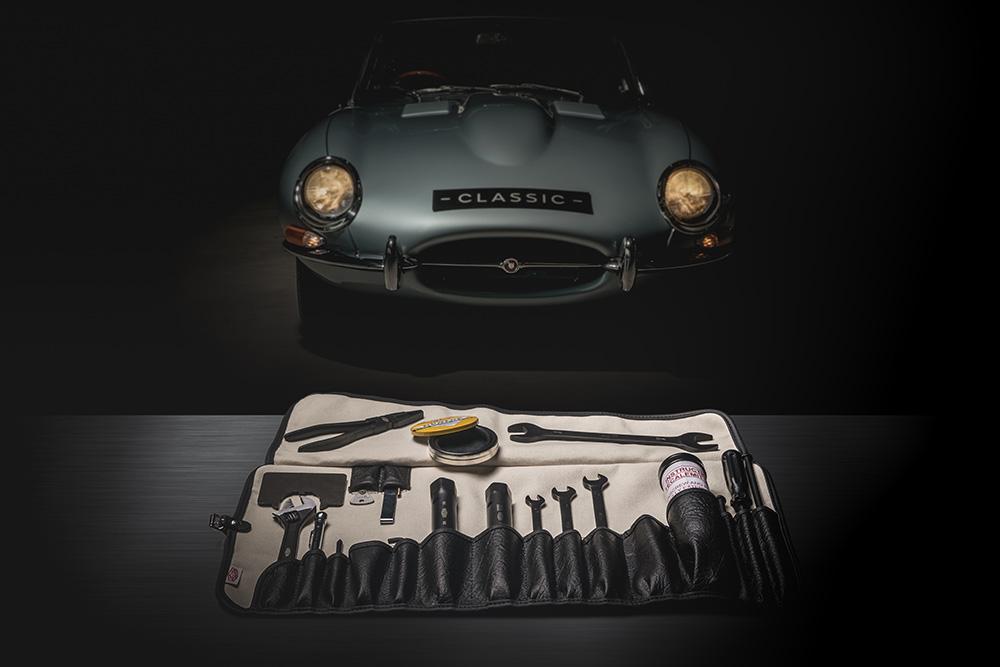 Jaguar Classic reintroduce el kit de herramientas originales E-Type