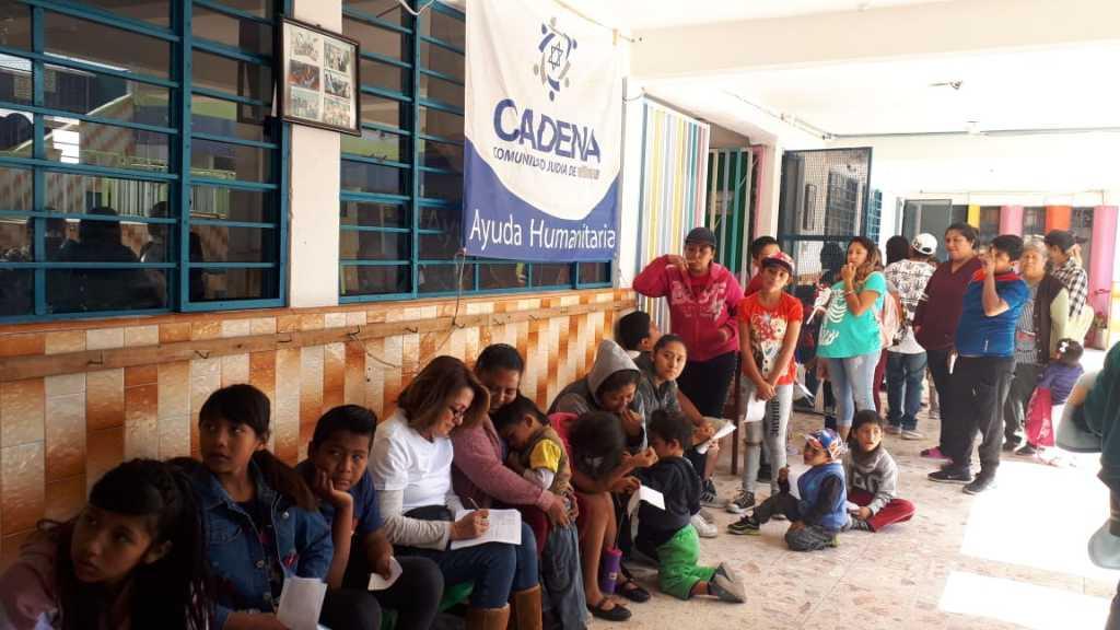 Embajada de Israel une fuerzas con Cadena, Alma, Devlyn y diferentes organizaciones para realizar campaña de salud con niños de comunidades de escasos recursos enMéxico
